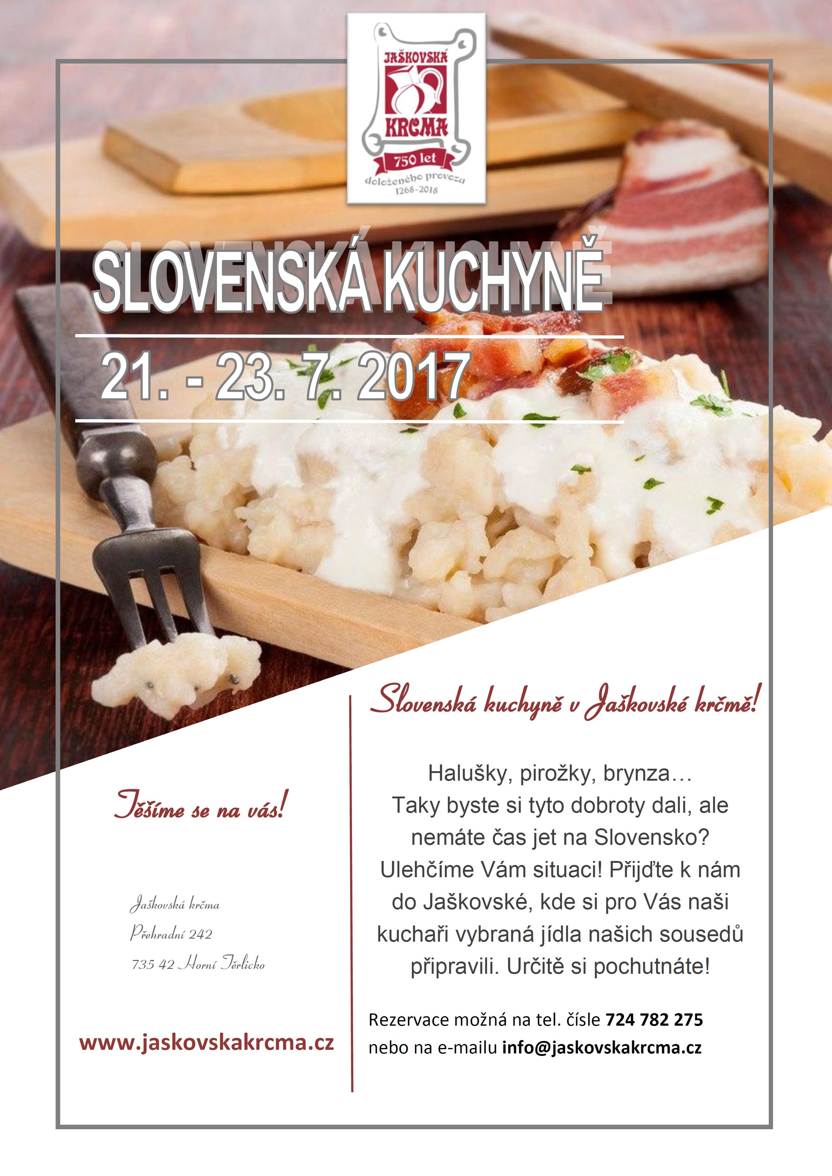 Slovenská kuchyně